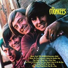 The Monkees (1966) album cover