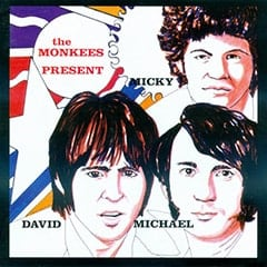 The Monkees Present album cover