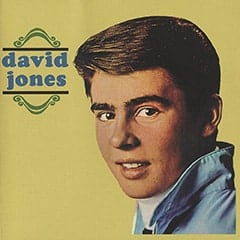 David Jones album cover