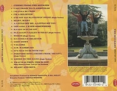 <cite>Greatest Hits</cite> album back cover