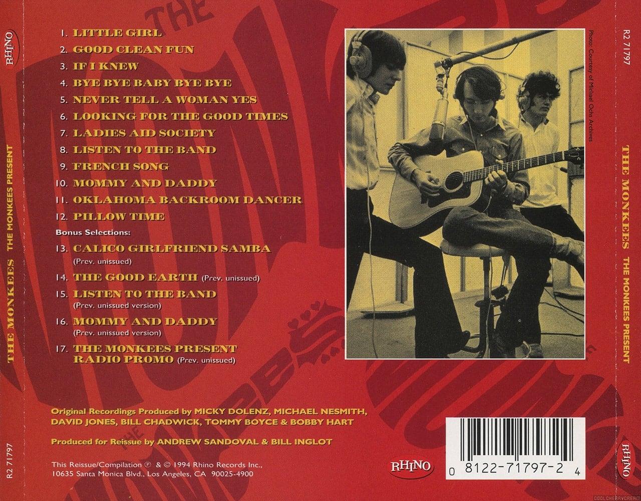The Monkees Present (1969) Lyrics | The Monkees | Sunshine Factory