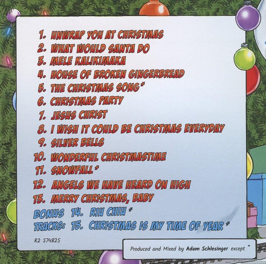 Christmas Song The Gift Lyrics: Christmas Party (2018) Lyrics