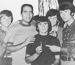 Peter Tork, James Frawley, Davy Jones, Micky Dolenz, Mike Nesmith