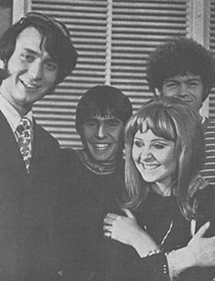 Mike Nesmith, Davy Jones, Lulu, Micky Dolenz