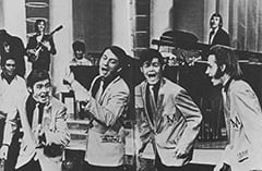 Davy Jones, Little Richard, Mike Nesmith, Micky Dolenz, Peter Tork
