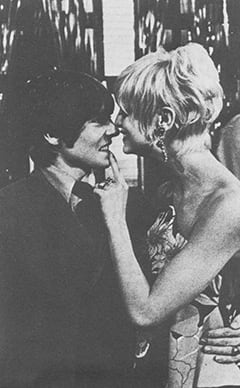 Davy Jones, Goldie Hawn