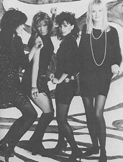 Michael Steele, Vicki Peterson, Susanna Hoffs, Debbi Peterson