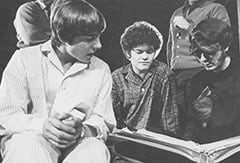 Davy Jones, Micky Dolenz, Mike Nesmith