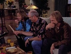 Scott (Michael Sullivan), Ray (Keith Allison), Chris (Peter Tork)