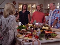 Annie Camden (Catherine Hicks), Scott (Michael Sullivan), Chris (Peter Tork), Ray (Keith Allison)