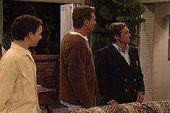 Cory Matthews (Ben Savage), Alan Matthews (William Russ), Reginald Fairfield (Davy Jones)