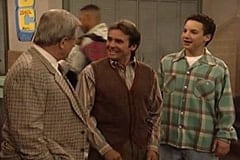 George Feeny (William Daniels), Reginald Fairfield (Davy Jones), Cory Matthews (Ben Savage)