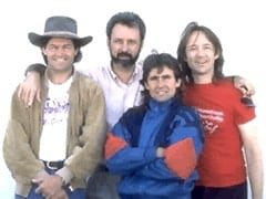 Micky Dolenz, Mike Nesmith, Davy Jones, Peter Tork