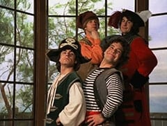 Peter Tork (L.B. Fisher), Mike Nesmith (Jeff Geddis), Davy Jones (George Stanchev), Micky Dolenz (Aaron Lohr)