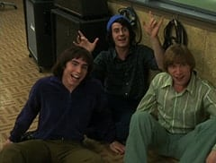 Davy Jones (George Stanchev), Mike Nesmith (Jeff Geddis), Peter Tork (L.B. Fisher)