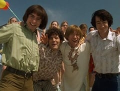 Davy Jones (George Stanchev), Micky Dolenz (Aaron Lohr), Peter Tork (L.B. Fisher), Mike Nesmith (Jeff Geddis)
