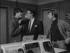 Micky Dolenz, Record Buyer (?), Peter Tork