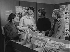 Davy Jones, Mike Nesmith, Unknown Auditioner, Bill Chadwick