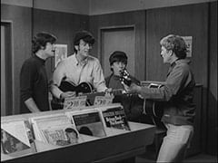 Unknown Auditioner, Mike Nesmith, Davy Jones, Bill Chadwick