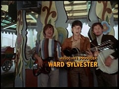 Peter Tork, Mike Nesmith, Micky Dolenz - Associate producer Ward Sylvester