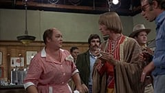 Mr. and Mrs. Ace (T.C. Jones), Jon Andersen, Peter Tork, Bob Rafelson