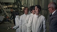 Davy Jones, Peter Tork, Micky Dolenz, Mike Nesmith, Inspector Shrink (Charles Macaulay)