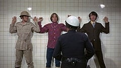 Micky Dolenz, Peter Tork, Officer Faye Lapid (Logan Ramsey), Mike Nesmith