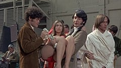 Micky Dolenz, The Jumper (June Fairchild), Mike Nesmith, Peter Tork, Davy Jones