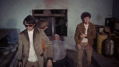 Mike Nesmith, Peter Tork, Factory Guard (?), Micky Dolenz