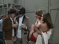 Micky Dolenz, Mike Nesmith, Peter Tork, The Jumper (June Fairchild)