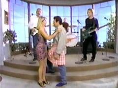 Mike Nesmith, Woman (Sarah Jones), Davy Jones, Micky Dolenz, Peter Tork