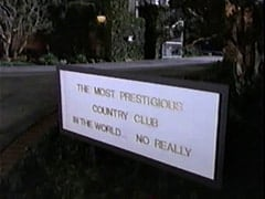 Outside The Most Prestigious Country Club In The World