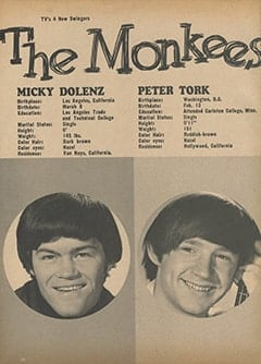 <cite>Tiger Beat</cite> (October 1966), The Monkees, Page 48