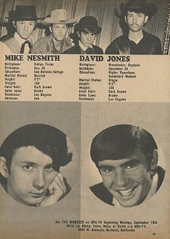 <cite>Tiger Beat</cite> (October 1966), The Monkees, Page 49