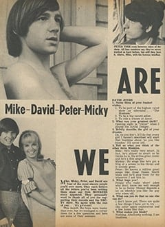 <cite>Tiger Beat</cite> (November 1966), We Are The Monkees, Page 34