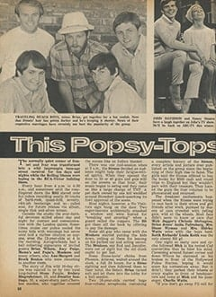 <cite>Tiger Beat</cite> (November 1966), This Popsy-Topsy Music World, Page 58