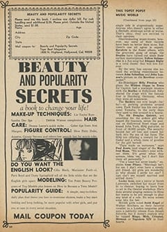 <cite>Tiger Beat</cite> (November 1966), This Popsy-Topsy Music World, Page 64