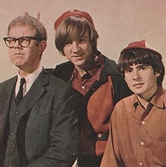 Daggart (Stan Freberg), Peter Tork, Davy Jones