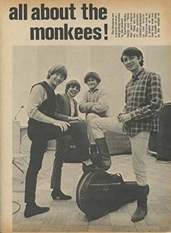 <cite>Flip</cite> (December 1966), All About The Monkees, Page 07