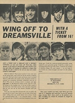 <cite>16</cite> (January 1967), Dreamsville, Page 22