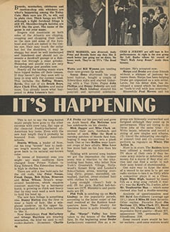 <cite>Tiger Beat</cite> (January 1967), It's Happening in Hollywood, Page 46