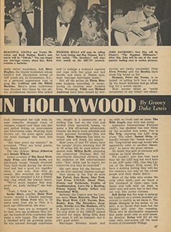 <cite>Tiger Beat</cite> (January 1967), It's Happening in Hollywood, Page 47