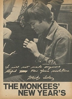 <cite>Flip</cite> (February 1967), The Monkees' New Year's Resolutions, Page 06
