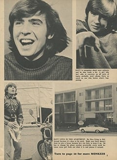 <cite>Tiger Beat</cite> (February 1967), A Special Look at Davy Jones, Page 05