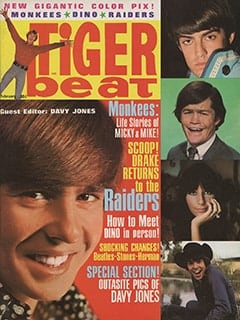 <cite>Tiger Beat</cite> (February 1967) cover