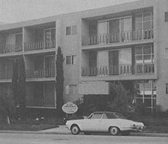Davy's Hollywood apartment