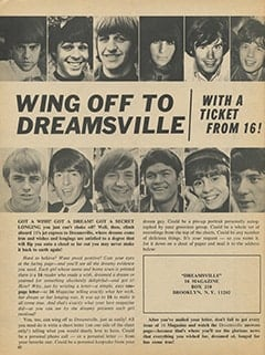 <cite>16</cite> (March 1967), Dreamsville, Page 62