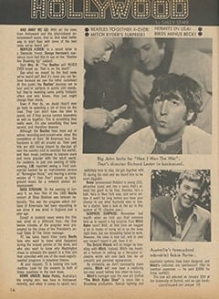 <cite>Teen Screen</cite> (March 1967), TS in Hollywood, Page 14