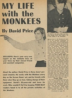<cite>Tiger Beat</cite> (March 1967), My Life with The Monkees, Page 03