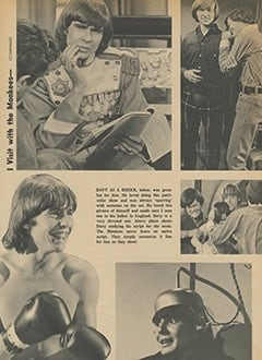 <cite>Tiger Beat</cite> (March 1967), I Visit with The Monkees (Part 3), Page 30